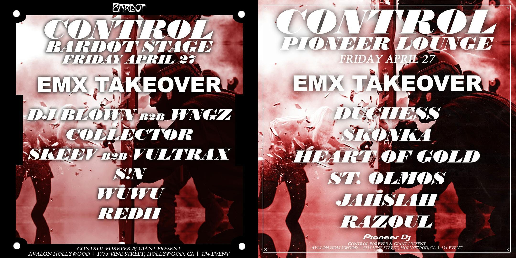 EMX Takeover & Prismo  Avalon (Hollywood)