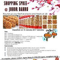 1 Day Pre CNY Shopping Spree at JB