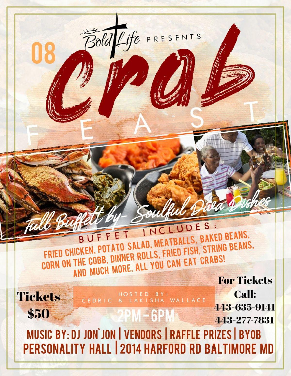 Bold Life Wear Incs CrabFeast 2019