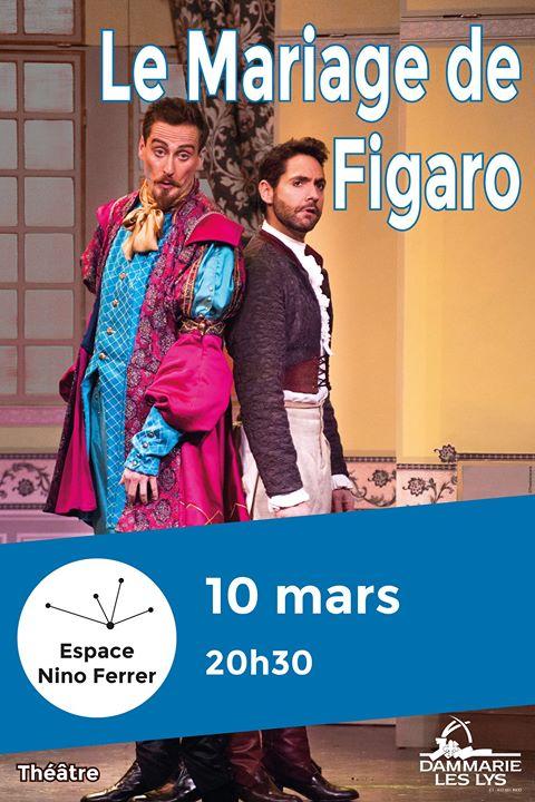 event details - Piece De Theatre Le Mariage De Figaro