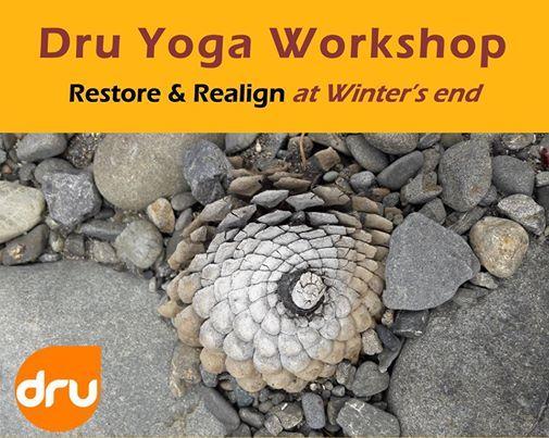 Dru Yoga Workshop Hawkes Bay 20 July 2019