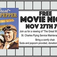 Movie Night &quotThe Great Waldo Pepper&quot