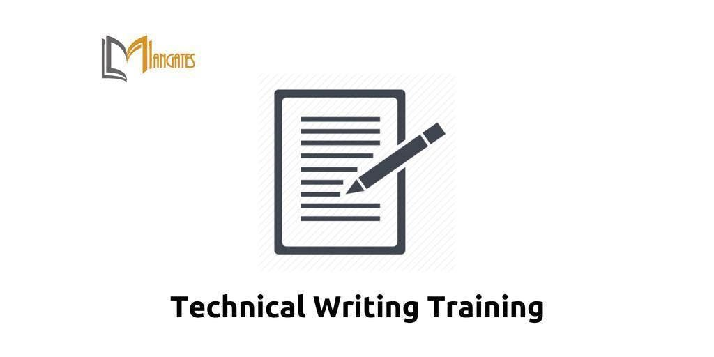 Technical Writing Training Cincinnati OH Apr 2nd-5th 2019