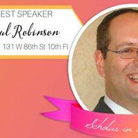 Shabbat Guest Speaker Rabbi Shaul Robinson