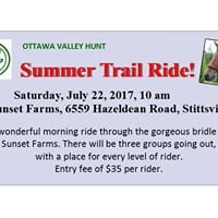 Summer Trail Ride