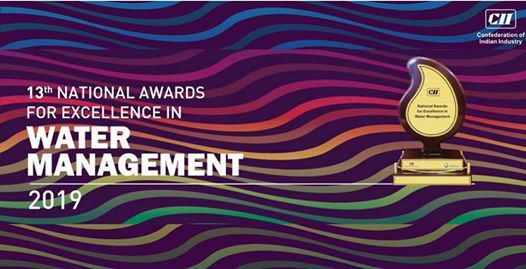 13th National Awards for Excellence in Water Management 2019