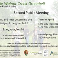 Little Walnut Creek Greenbelt- Community Meeting 2