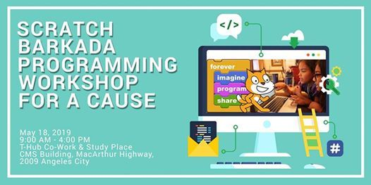 Scratch Barkada Programming Workshop for a Cause