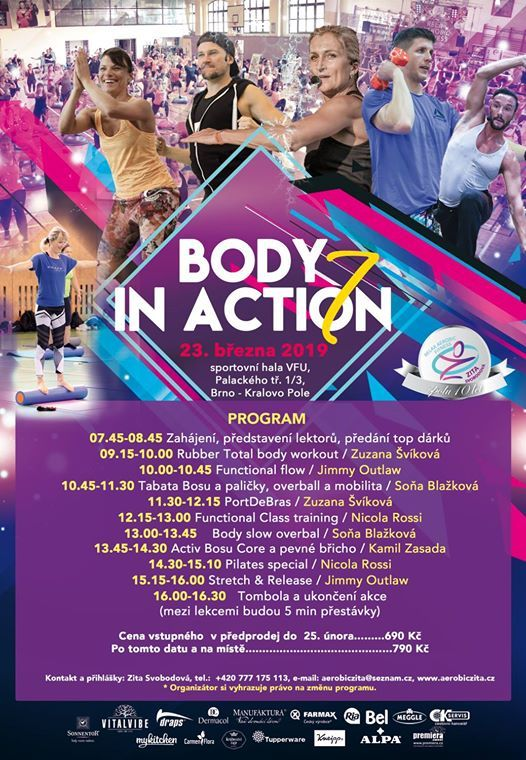 Body in Action 7 BRNO
