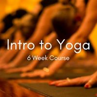 Intro to Yoga   6 Week Course