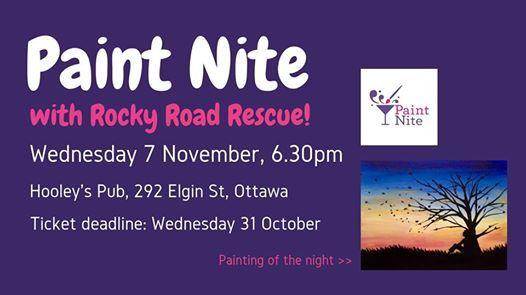Paint Nite in Ottawa