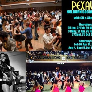 Pexava Thursday Salsa Social at Holborn (Thursday 21st June)