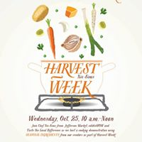 Harvest Week Cooking Demo