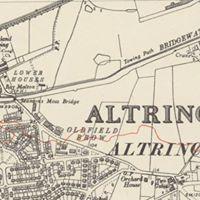 1951 Over the Moss  Altrincham to Dunham circular
