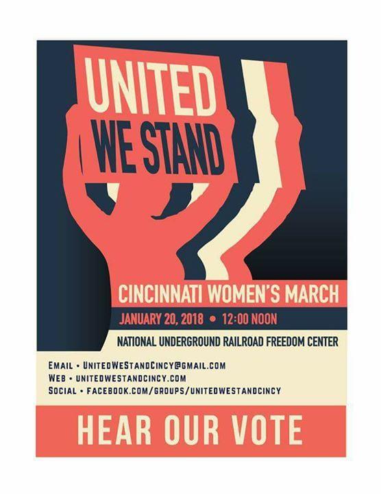 La Marcha de Mujeres en Cincinnati 2018  Escucha Nuestro Voto