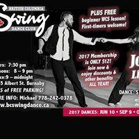 BC Swing Dance Club May Dance