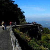 Descida Estrada Velha de Santos c almoo em Santos