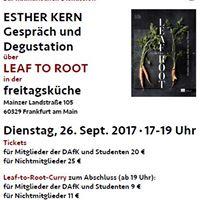 Esther Kern &amp LEAF to ROOT - Gesprch &amp Men