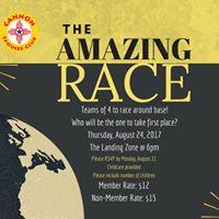 August Social- Amazing Race