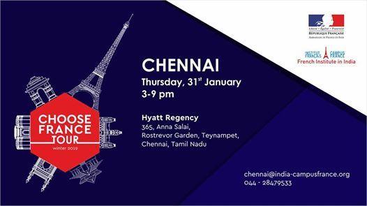 Choose France Tour 19- Chennai