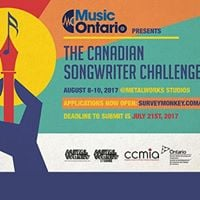 MusicOntario presents the 2017 Canadian Songwriter Challenge