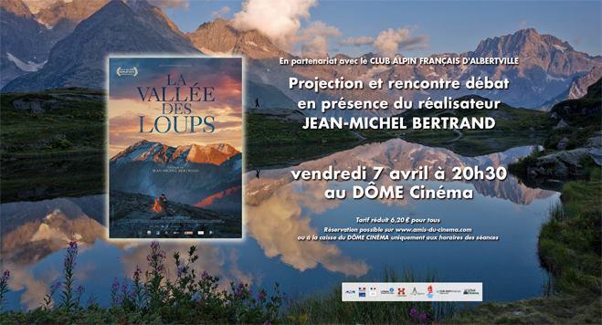 La vallée des Loups en présence de Jean-Michel Bertrand at Le Dôme ...