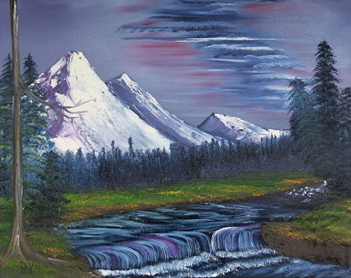 Bob Ross Oil Painting Class At Hobby Lobby 7360 Us Hwy 431 Ste 2