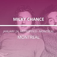 Milky Chance in Montreal
