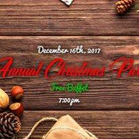 Saltos Annual Christmas Party - Free Buffet Dinner &amp Dance