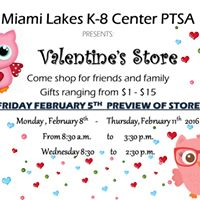 MLK8 PTSA VALENTINE STORE PREVIEW DAY