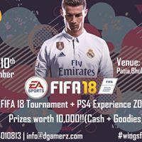 FIFA 18 Tournament by DGamerz