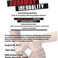 Sustainable Staten Island Runaway Inequality Workshop
