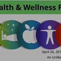 Health &amp Wellness Fair