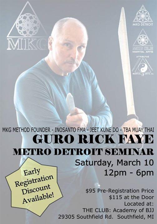 Rick Faye Metro Detroit Seminar! at The Club, Southfield