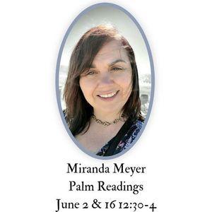 Palm Readings with Miranda Meyer