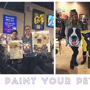 SOLD OUT Paint Your Pet April 16