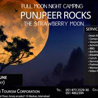 Fullmoon Night Camping in PunjPeer Rocks