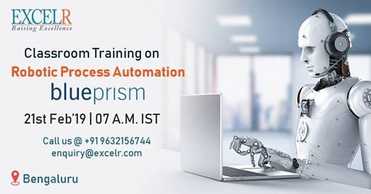 Classroom Training On Robotic Process Automation