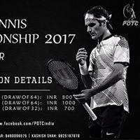 PDPU Open Tennis Championship 2017
