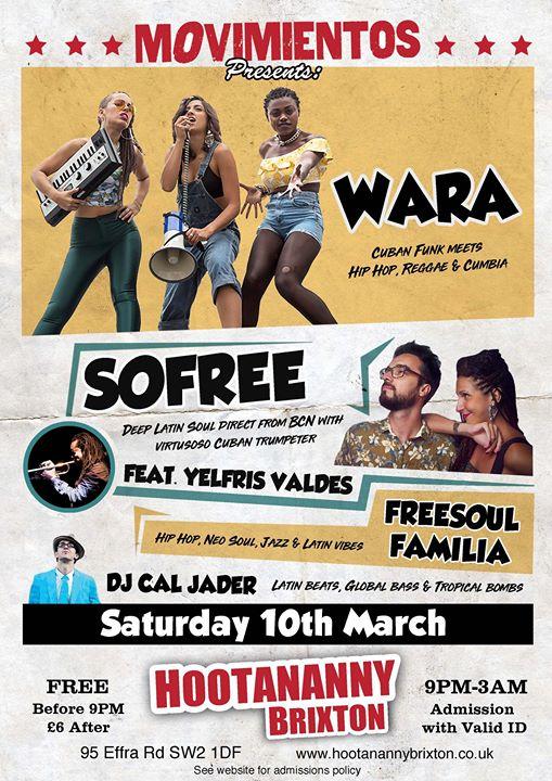 WARA Sofree ft Yelfris Valdes Freesoul Familia & DJ Cal Jader