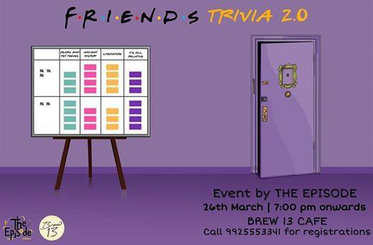 Friends Trivia Night 2.0