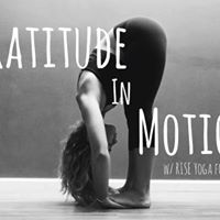 Gratitude in Motion with Yoga Alameda