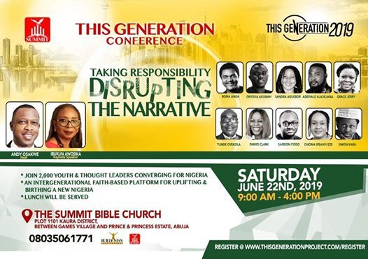 This Generation Conference 2019