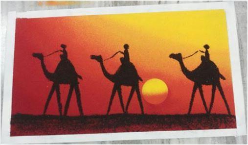 Sand Art-Poster Rangoli workshop for Beginners(Weekday Workshop)