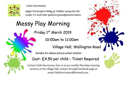Messy Play with Little Hurricanes