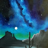 Desert Galaxy Painting 30