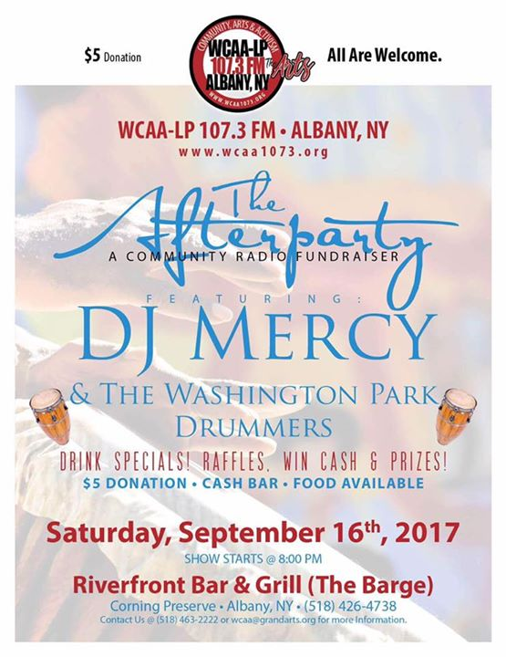WCAA 107.3 FM The Afterparty Fundraiser