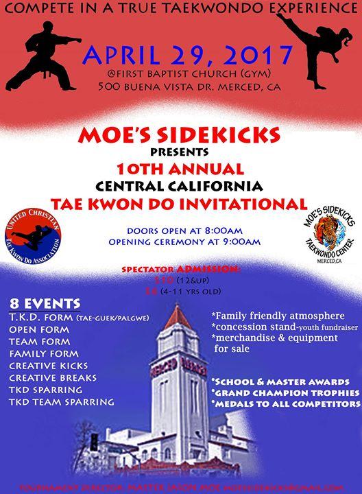 Moe's Taekwondo Invitational
