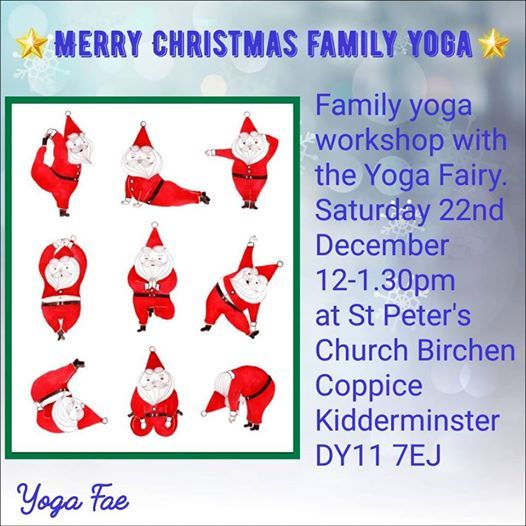 Magical Merry Christmas Family Yoga Workshop  at St Peters