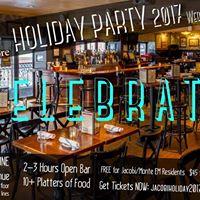 JacobiMontefiore EM Holiday Party 2017